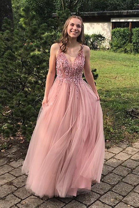 Sparkling Tulle Prom Dresses Formal Dresses Wedding Party Dresses LPD160 - LaRovias