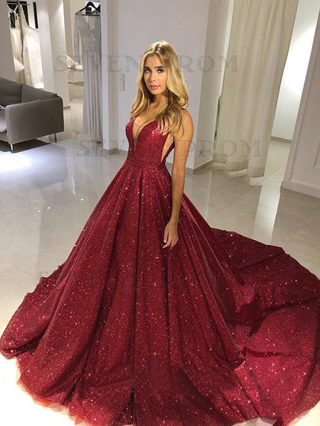 Sparkling Prom Dresses Formal Dresses Wedding Party Dresses LPD164 - LaRovias