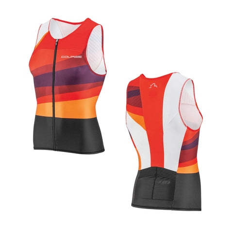 Louis Garneau Tri Course Sleeveless Tri Top