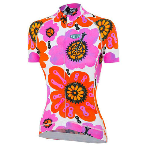 Cycology Pedal Flower Women's Jersey
