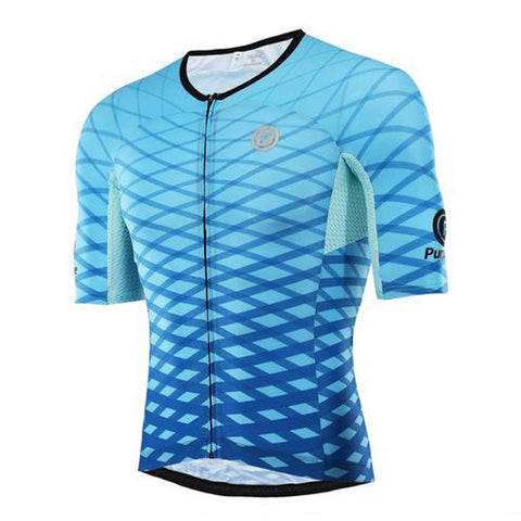 Purpose Flow Pro Ultra-Light Skinsuit Jersey (Aero Blue)