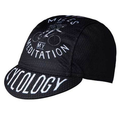 Cycology Miles Are My Meditation Cycling Cap