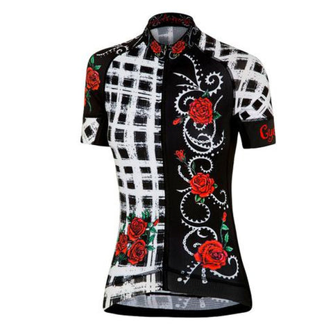 Cycology Roses Are Red Women's Jersey
