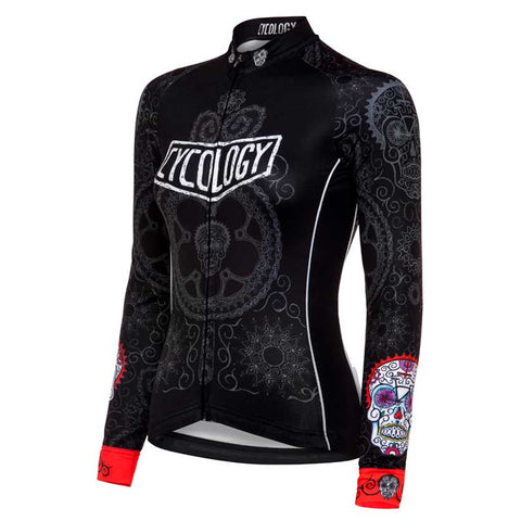 Cycology Day Of the Living Women's Long Sleeve Jersey