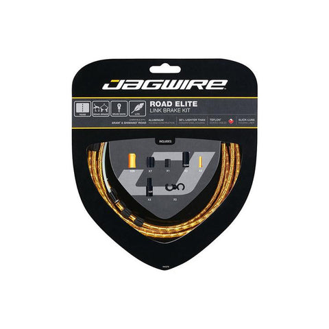 Jagwire 5mm CGX Brake Housing w Slick Lube Liner (Pack of 50)