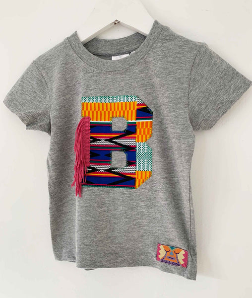 Baby Size 12-18 months 'B' Letter Tee