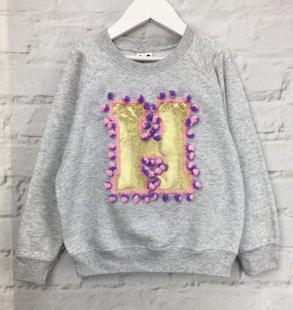 5/6 'H' Letter Sweater - sale