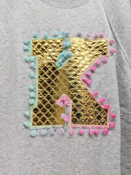 Sale - Adults Size M 'K' Letter Sweater
