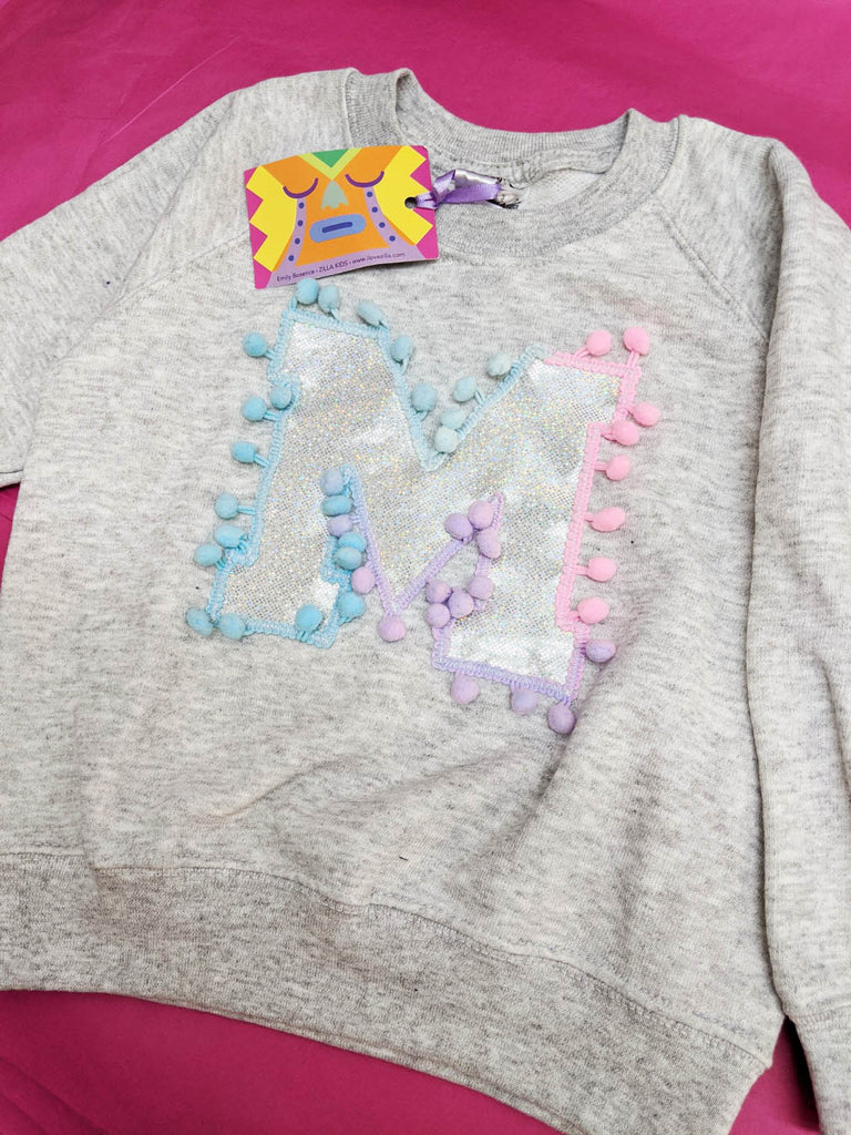 Sale - Kids Age 3/4 Letter Sweater