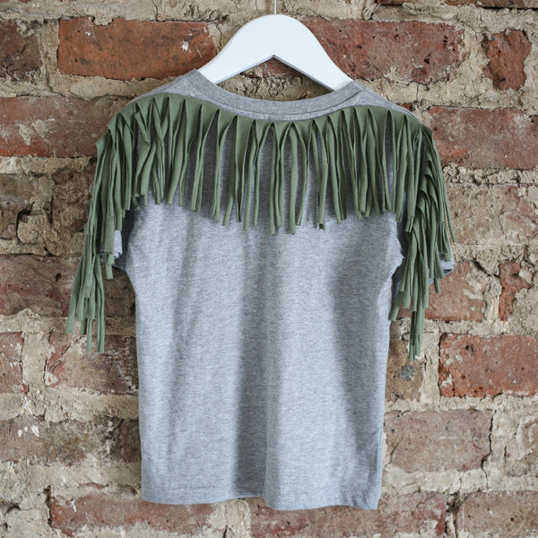 Black Rock Tee - Grey / olive