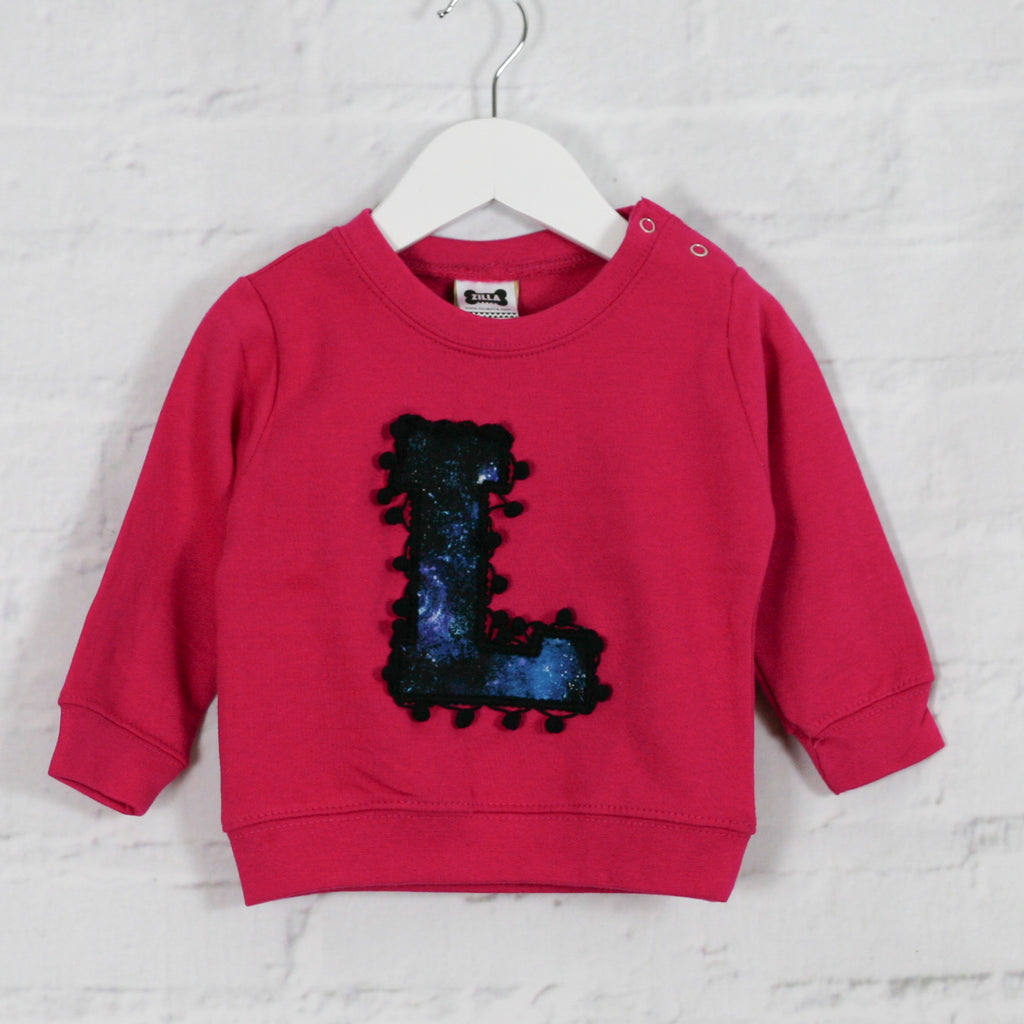 6-12 'L' Letter Sweater