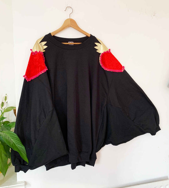 Queenie - One Off Oversized Batwing Dress to fit size 18 plus!