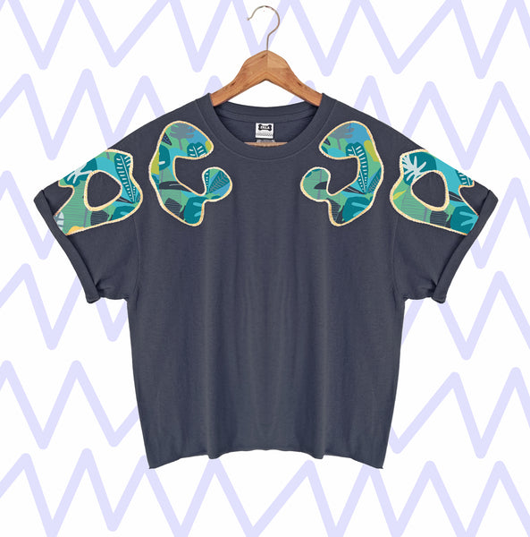 Limited Edition Bonnie Appliqué Oversized Tee #12
