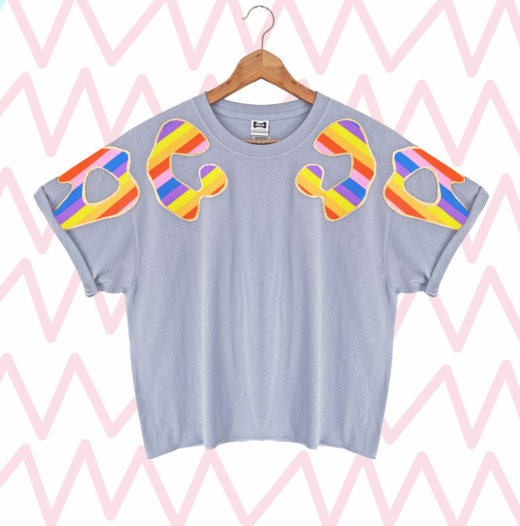 Limited Edition Bonnie Appliqué Oversized Tee #26