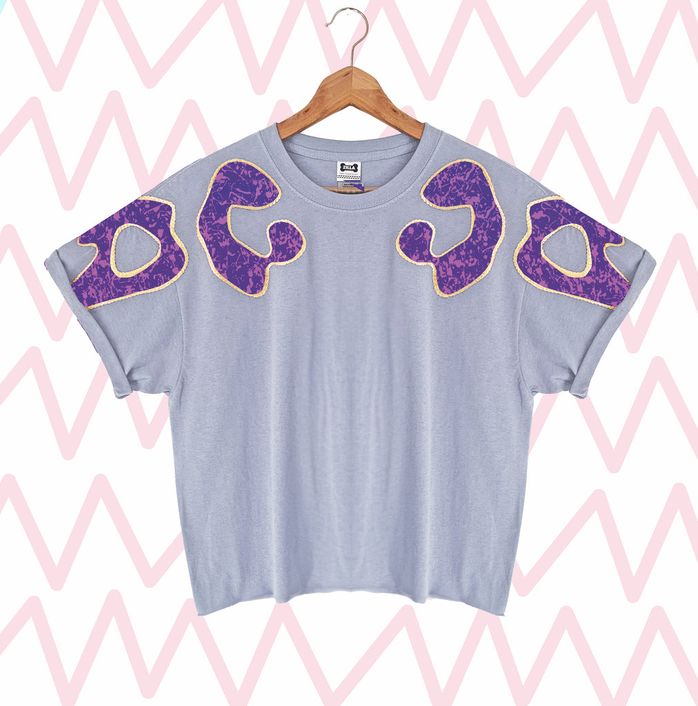 Limited Edition Bonnie Appliqué Oversized Tee #9