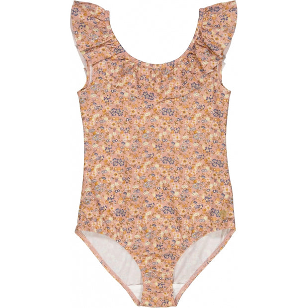 Wheat Badedrakt Marie-Louise Swimwear 9054 flowers and seashells
