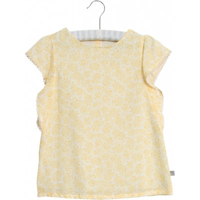 Wheat Blouse Alfi Shirts and Blouses 5302 lemon flowers