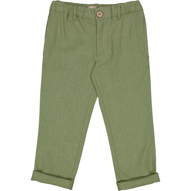 Wheat Bukse Jens Trousers 4122 sage