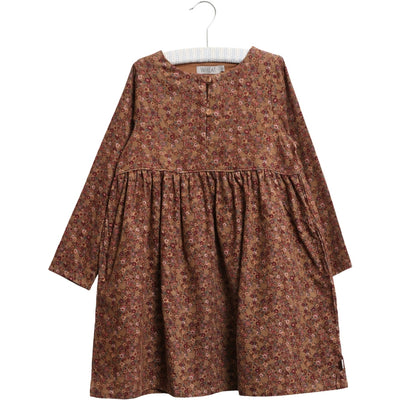 Wheat Dress Bibi Dresses 5070 caramel flowers