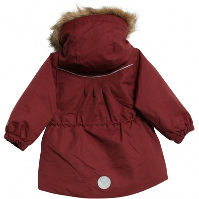 Wheat Outerwear Jacket Mathilde Tech Jackets 2105 burgundy