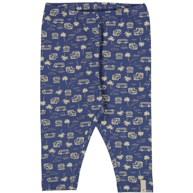 Wheat Jersey bukse Silas Leggings 1013 blue surf