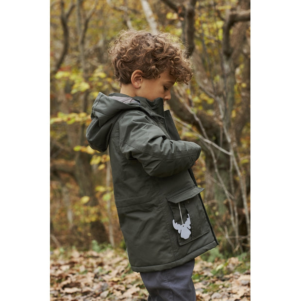 Wheat Outerwear Parka Leo Tech Jackets 4065 ivy