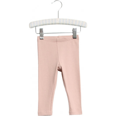 Wheat Rib Leggings Leggings 2487 rose powder