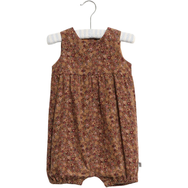 Wheat Romper Kamilla Suit 5070 caramel flowers