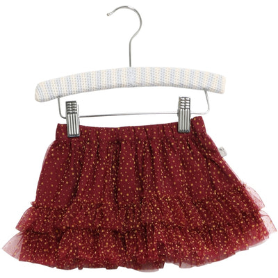 Wheat Skirt Tulle Sille Skirts 2105 burgundy