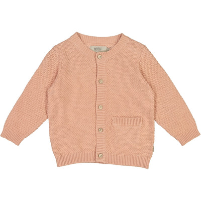 Wheat Strikket Cardigan Ray Knitted Tops 2270 misty rose