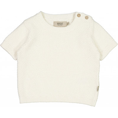 Wheat Strikket topp Shiloh Knitted Tops 3182 ivory