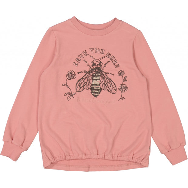 Wheat Sweatshirt Bee Embroidery Sweatshirts 2024 rosie