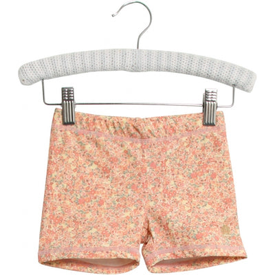 Wheat Swim Shorts Niki Swimwear 5301 lemon curd flowers