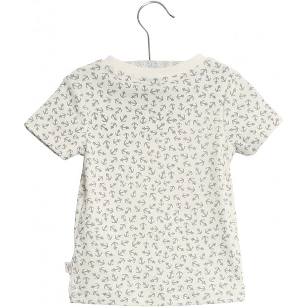 Wheat T-Shirt Peder Jersey Tops and T-Shirts 9065 ivory anchor