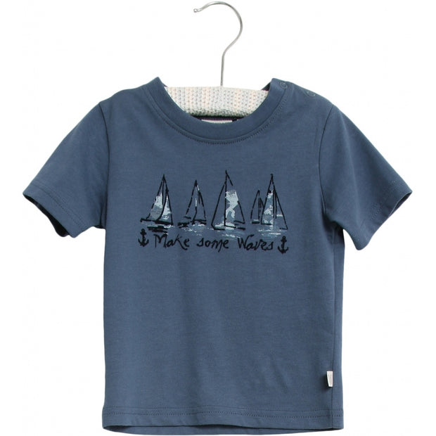 Wheat T-Shirt Ships Jersey Tops and T-Shirts 1194 blue denim