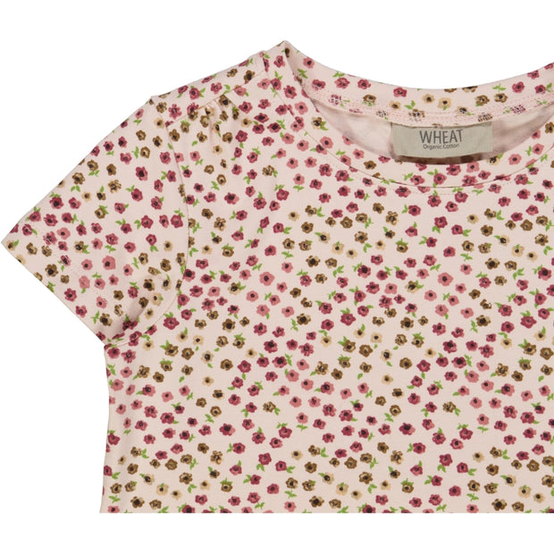 Wheat T-skjorte Angela Jersey Tops and T-Shirts 9059 powder mini flowers