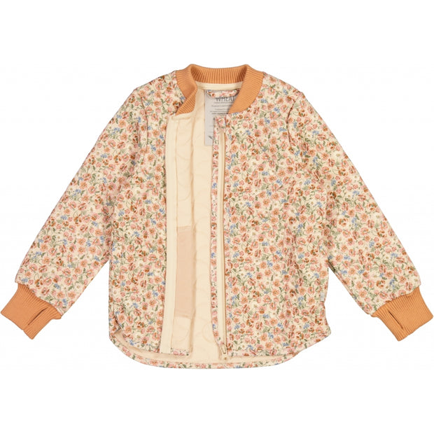 Wheat Outerwear Termojakke Loui Thermo 9048 alabaster flowers