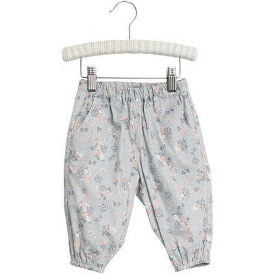 Wheat Trousers Malou Trousers 1486 pearl blue flowers