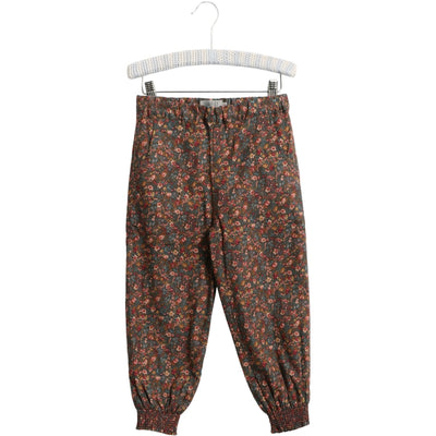 Wheat Trousers Sara Lined Trousers 1595 petroleum flowers