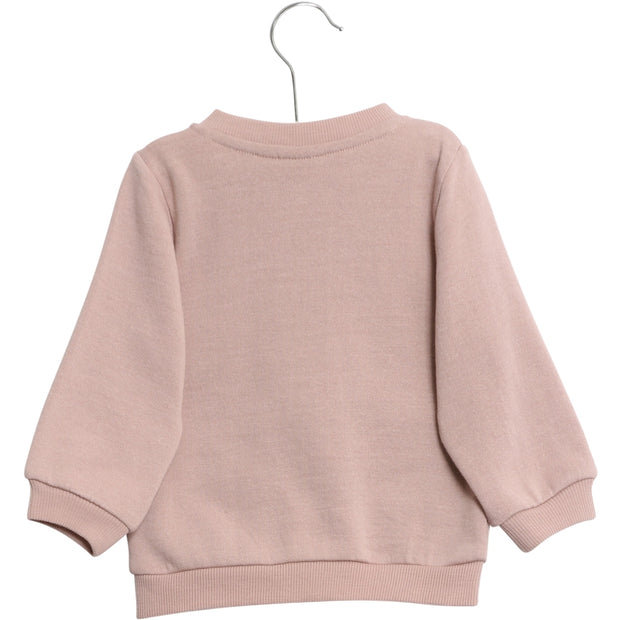 Wheat Wool Wool Sweat Cardigan Sweatshirts 2487 rose powder
