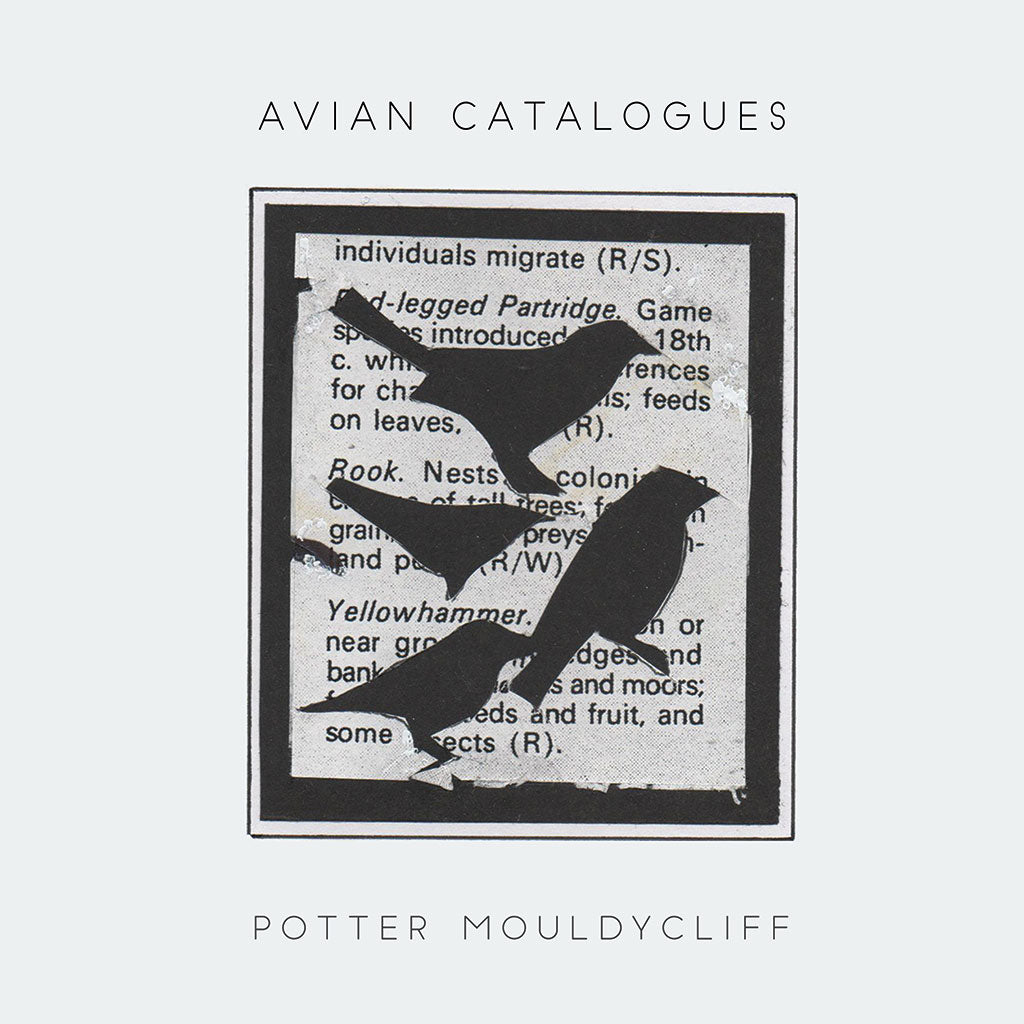 Colin Potter & Phil Mouldycliff  'Avian Catalogues' CD,standard edition