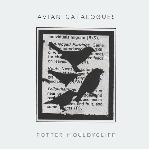 Colin Potter & Phil Mouldycliff  'Avian Catalogues' CD,standard edition ***SOLD OUT***