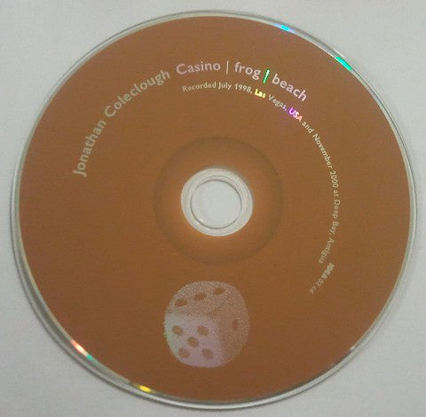 Jonathan Coleclough  'Casino'  CD