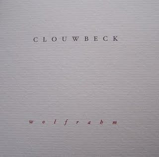 CLOUWBECK 'Wolfrahm' CD