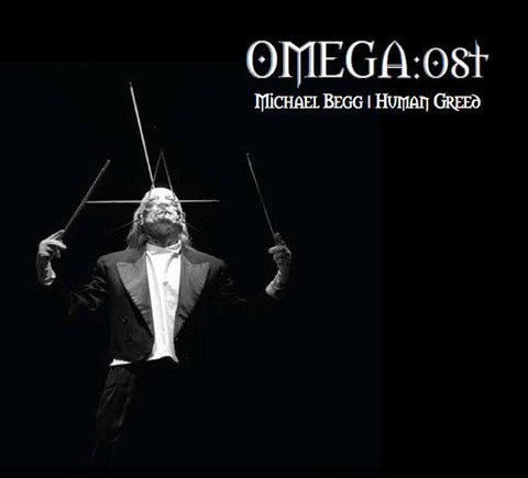 Human Greed 'Omega:OST' CD + Ltd Ed. CDR