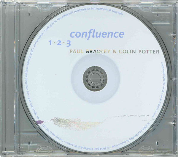 Paul Bradley & Colin Potter - Confluence CD