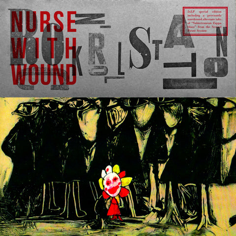 Nurse With Wound  'Rock & Roll Station'' 2LP  Available end of March (£23.00)