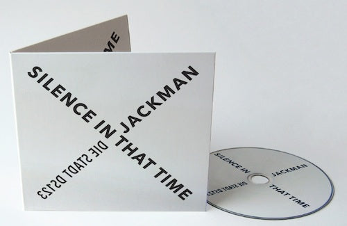 David Jackman  'Silence in that Time'  CD