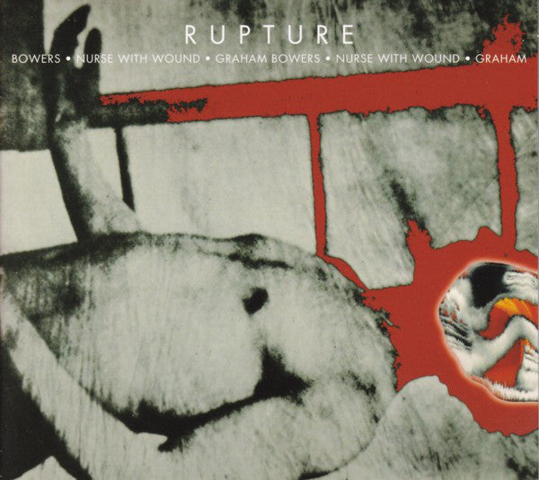 Nurse With Wound & Graham Bowers ‎ 'Rupture'  CD