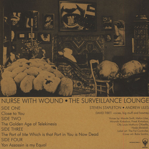 Nurse With Wound  'Surveillance Lounge' 2LP